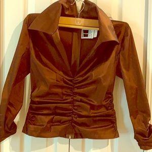 Fancy jacket top